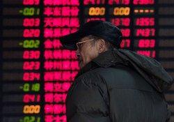 Çin borsasında endeks hızlı düşünce işlemler durduruldu