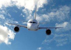 Uçak zorunlu iniş yaptı