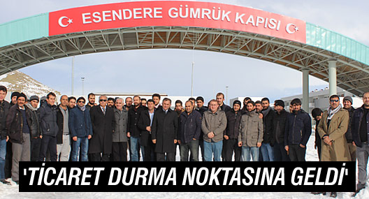 """Özdemir: """"Ticaret durma noktasına geldi"""""""