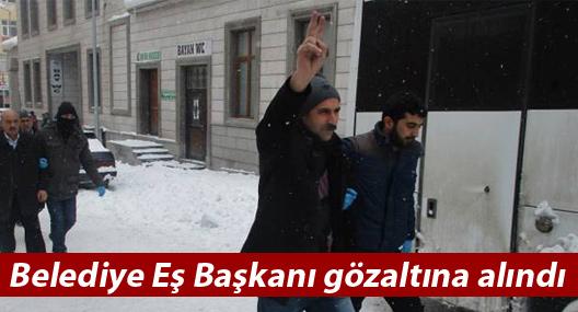 Bulanık Belediye Eş Başkanı gözaltına alındı