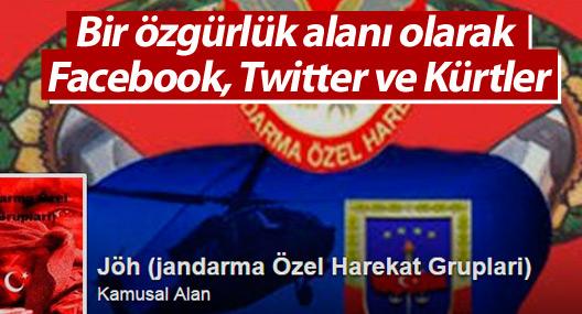 Bir özgürlük alanı olarak Facebook, Twitter ve Kürtler
