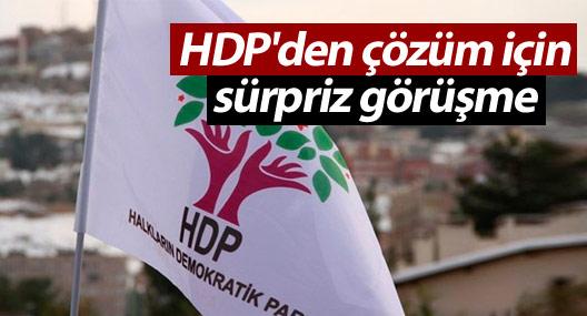 HDP'den TBMM Başkanı ile sürpriz görüşme