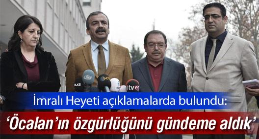 """""""Öcalan'a bu yaklaşım Marmara Denizi kadar hendek kazmaktır"""""""