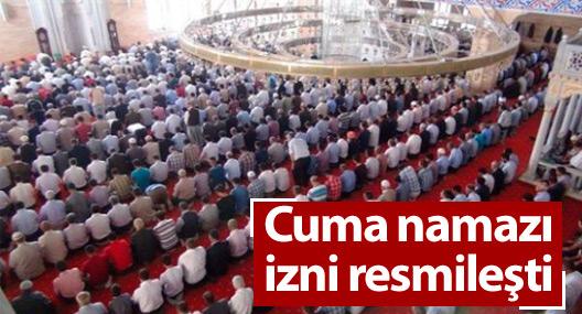 'Cuma namazı' izni Resmi Gazete'de yayınlandı