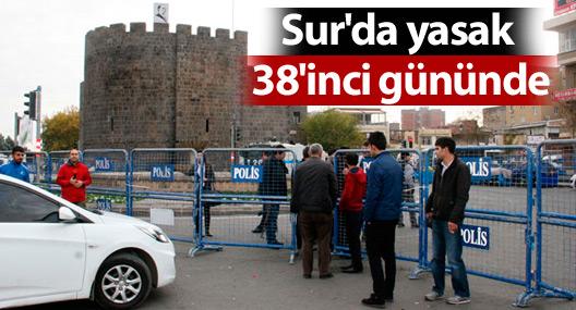 Sur'da yasak 38'inci gününde