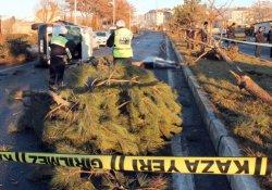 İşçi servisi kaza yaptı: 2 ölü