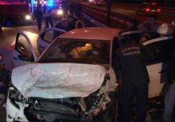 TEM'de trafik kazası! 1 ölü, 3 yaralı
