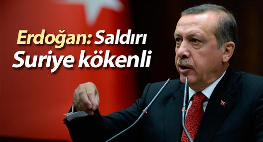 Erdoğan: Sultanahmet saldırısı Suriye kökenli