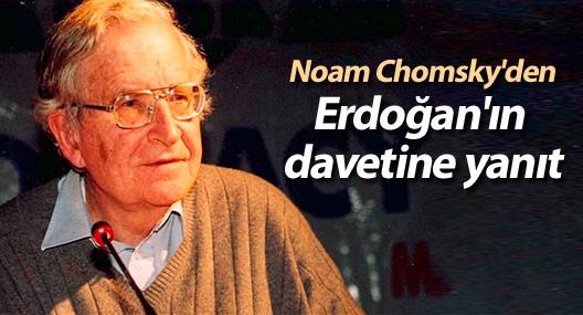 Noam Chomsky'den Cumhurbaşkanı Erdoğan'ın davetine yanıt