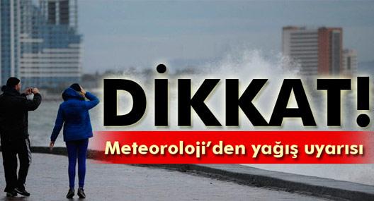 13 Ocak 2016 yurtta hava durumu