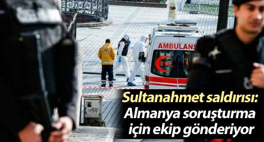 Sultanahmet saldırısı: Almanya soruşturma için ekip gönderiyor
