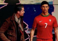 Ronaldo heykeline 'Messi' saldırısı