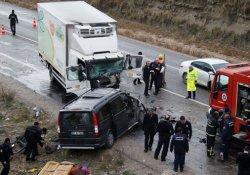 Antalya'da kaza: 3 ölü 2 yaralı