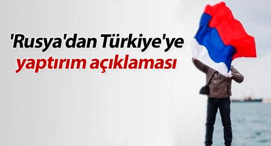 'Rusya'dan Türkiye'ye yaptırım açıklaması