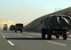 Siirt'te askeri hareketlilik