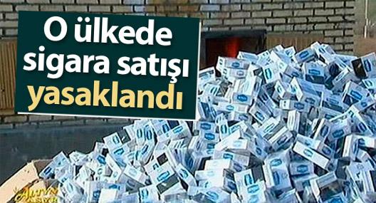 Türkmenistan'da sigara satışı yasaklandı