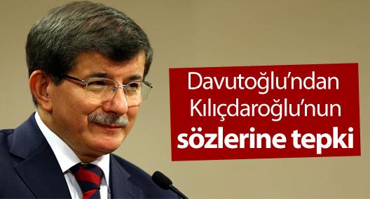 Davutoğlu'ndan Kılıçdaroğlu'na 'diktatör' eleştirisi