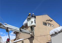 Yüksekova'da elektrik kesintisi