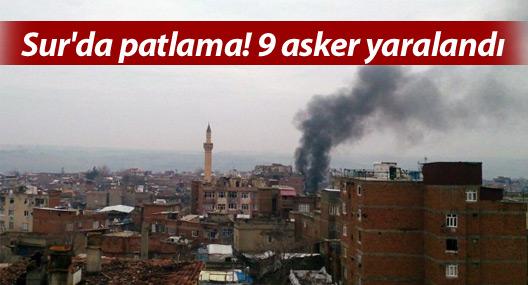 Sur'da patlama! 7 asker yaralandı