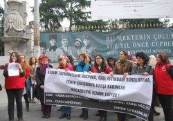 Emekçi kadınlar: Esnek çalışmaya son
