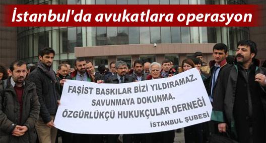"""ÖHD'li avukatlara """"Gerekçesiz"""" polis baskını"""