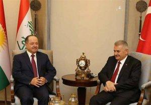 Yıldırım'dan Barzani'ye başsağlığı mesajı