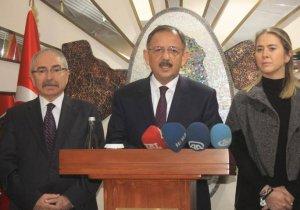 Bakan Özhaseki: Nusaybin'i ihya edeceğiz