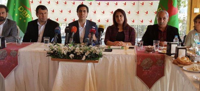 DBP Eşbaşkanı Yüksek: Referandumda 'evet' çıkmaz