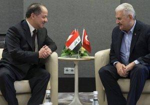 Başbakan Yıldırım ile Barzani Münih'te Görüştü