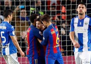 Barcelona'da 118 yıllık kulüp tarihinde bir ilk!