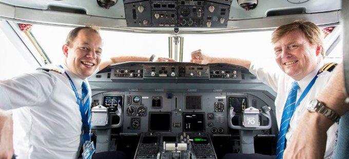 Hollanda kralı, 21 yıl gizlice yolcu uçağı uçurmuş