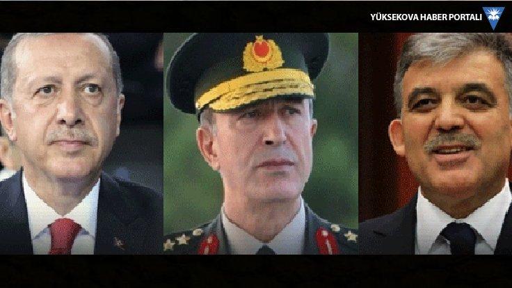Erdoğan, Gül ve Akar bir araya geliyor