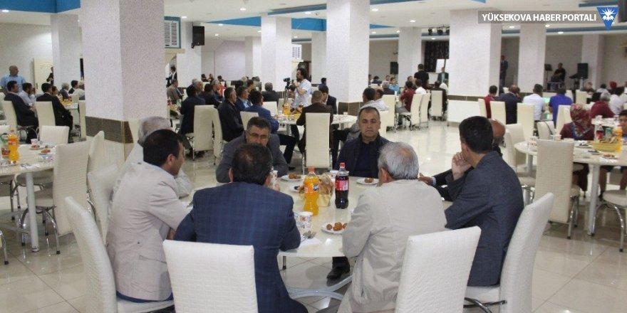 Düzce Belediyesi Yüksekova'da iftar yemeği verdi