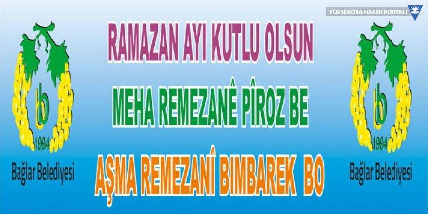 Kürtçe Ramazan afişleri toplatıldı