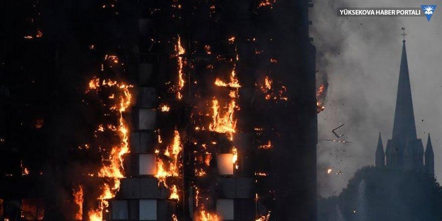 Londra yangınında can kaybı var