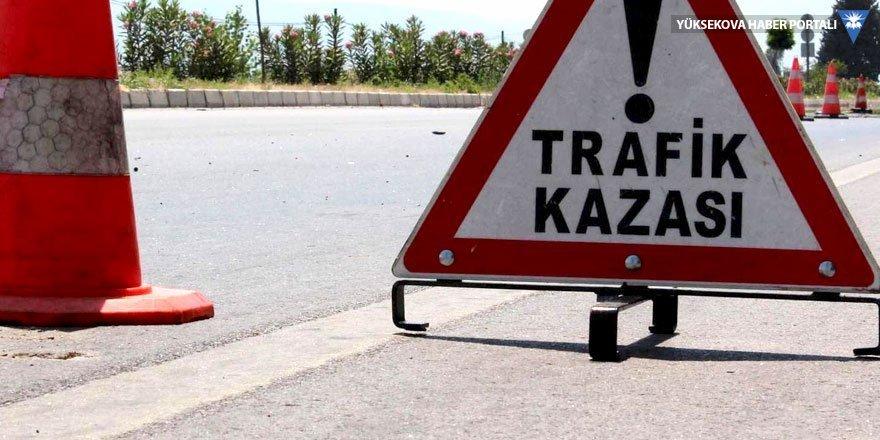 Çaldıran'da trafik kazası; 6 yaralı