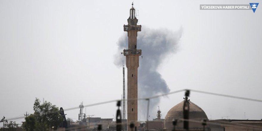 Bağdadi'nin 'halifelik' ilan ettiği camii kuşatıldı