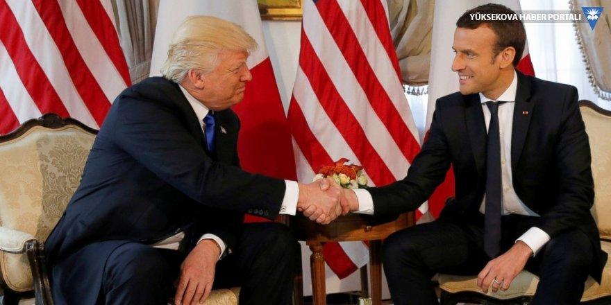 Macron ve Trump'tan Suudi Arabistan'a Kaşıkçı çağrısı