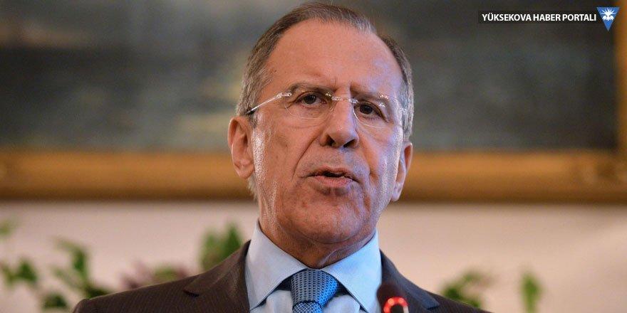 Lavrov: ABD Suriye'de sözde devlet kurmak istiyor, Kürtler tutarlı olmalı