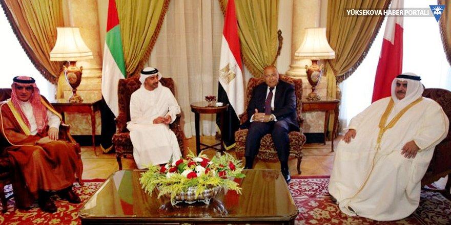 Katar'ın cevabı 'ciddi' bulunmadı