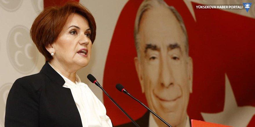 Akşener'in partisi için ilk kez oy oranı tahmini