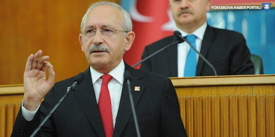 Kılıçdaroğlu: Kozmik odayı teröristlere verdiniz
