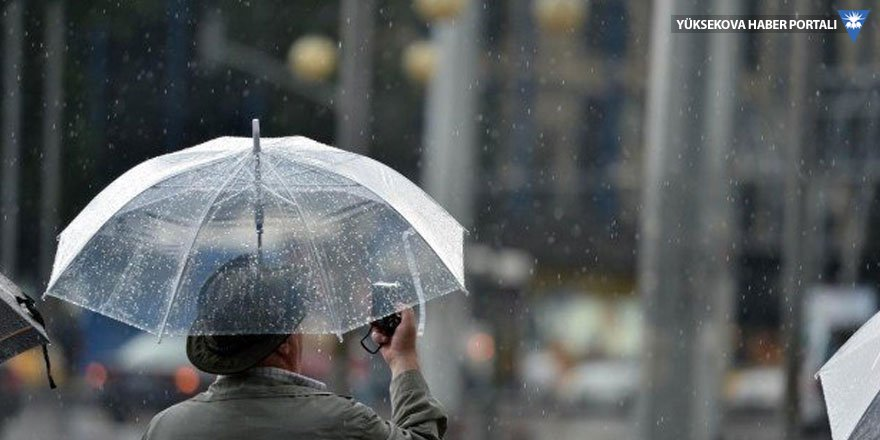 Meteoroloji'den yurt geneline kuvvetli yağış uyarısı