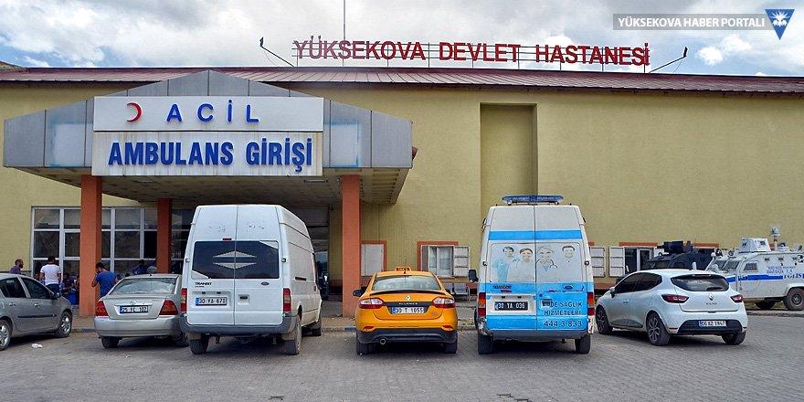 Yüksekova'da patlama: 2 yaralı