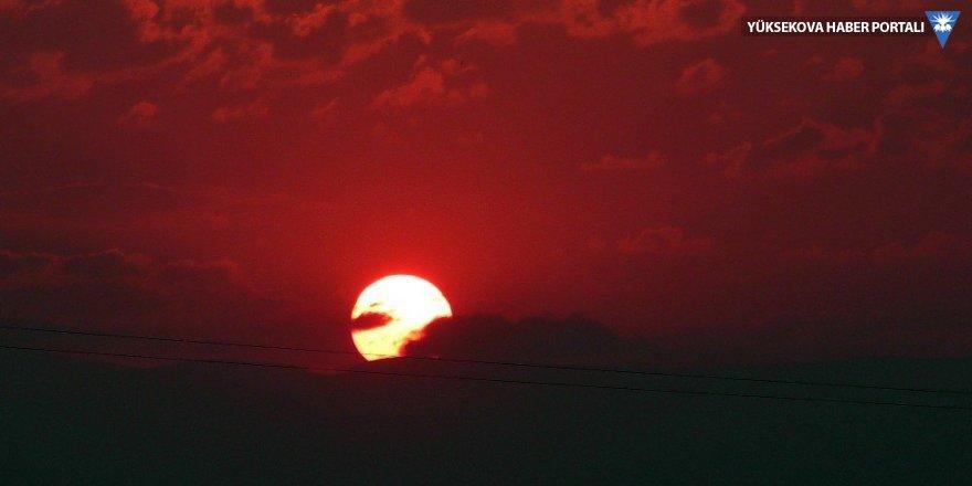 Ardahan'da muhteşem gün batımı