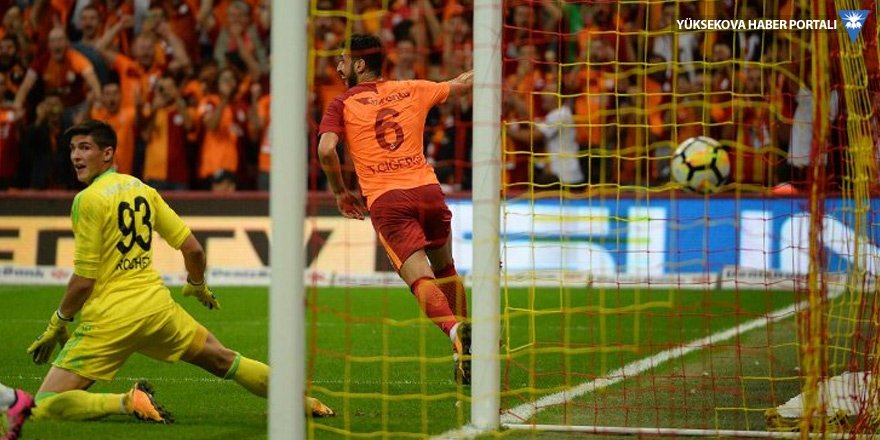 Galatasaray, 3'te 3 yaptı