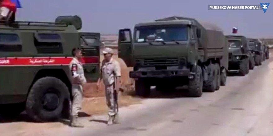 Rus askerleri Afrin'e konuşlandı