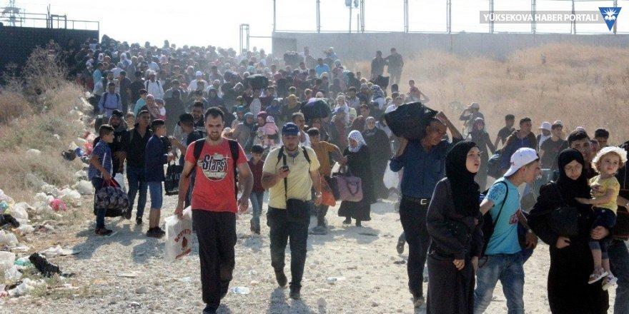 Bayram için eve giden 50 bin Suriyeli geri dönmedi