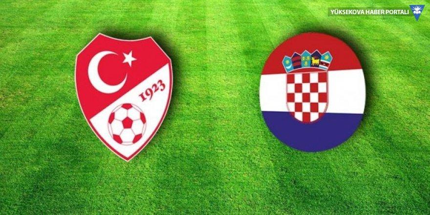 Türkiye-Hırvatistan maçı da ertelendi