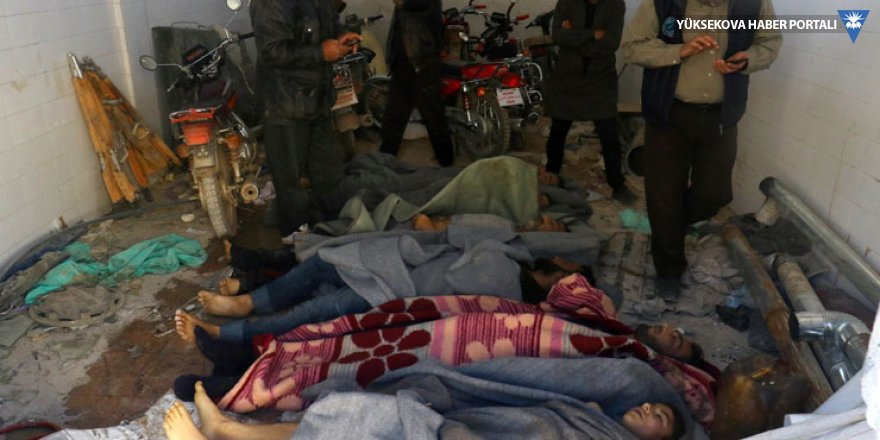 BM raporu: Suriye hükümeti 30'dan fazla kimyasal silah saldırısı yaptı